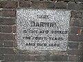 Commemorative stone outside Down House - geograph.org.uk - 1858050.jpg