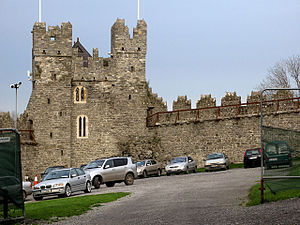 Constable Tower, Swords Castle, Swords, County Dublin, Ireland - geograph.org.uk - 315886