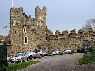 Swords Castle - Constable Tower, Swords Castle