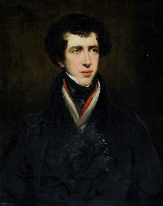 Constantine Henry Phipps, 1st Marquess of Normanby by John Jackson