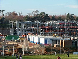 Retford Oaks Academy - Construction of new school in December 2005 by Balfour Beatty