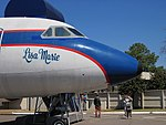 Convair 880 Lisa Marie Graceland Memphis TN 2013-04-01 001.jpg