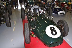 1960 Australian Grand Prix - Alec Mildren won the 1960 Australian Grand Prix driving a Cooper T51, similar to the example depicted above