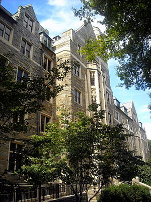 Housing at Georgetown University - Copley Hall is a sophomore dormitory.