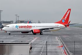 illustration de Corendon Airlines