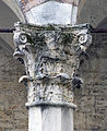 Corinthian column with Griffin in Perugia.jpg