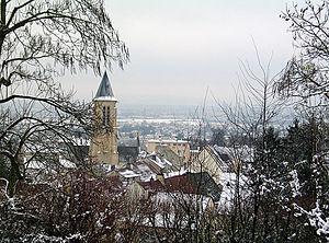 Cormeilles-en-Parisis - A view of Cormeilles, seen from the park
