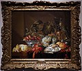 Cornelis de heem (seguace), natura morta con gamberone, ostriche e frutta, fiandre 1690-1710 ca.jpg