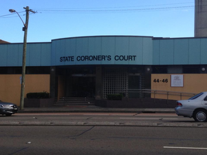 Coroner's Court of New South Wales - The façade of the NSW State Coroner's Court in the early morning.