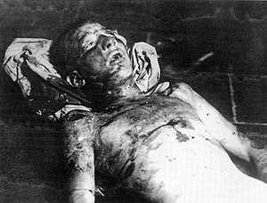 Anteo Zamboni - Anteo Zamboni after he was lynched