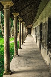 Corridor of Kadurkhil High School's earth structure.jpg