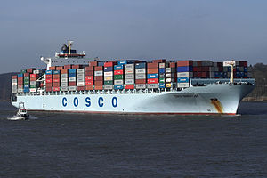 Cosco Vancouver IMO Number: 9285691 MMSI Numbe...