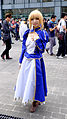 Cosplayer of Saber, Fate stay night at PF23 20151025a.jpg