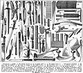 Couteaux - knives etc. - Public domain illustration from Larousse du XXème siècle 1932.jpg