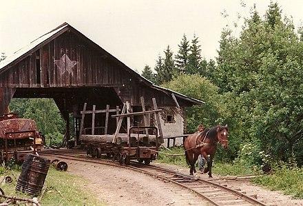 Calea ferată forestieră Covasna–Comandău - Wikiwand