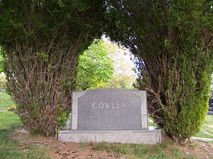 Matthias F. Cowley - Image: Cowley Family Monument