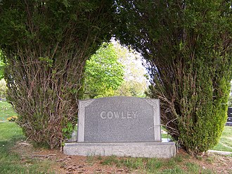 Matthew Cowley - Cowley Family Monument