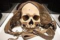 Cráneo trofeo del pueblo Bunum. Siglo XIX. Museo Nacional de Antropología de España 01.jpg