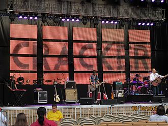 Cracker (band) - Cracker performing at Jones Beach, New York.