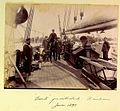 Crewmen on quarterdeck of HMS Dart Brisbane June 1895.jpg