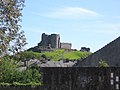 Criccieth Castle viewed from Craft Centre - geograph.org.uk - 1306344.jpg
