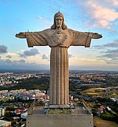 The Christ The King Statue In Almada Portugal Became A Popular Tourist Attraction