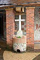Cross at entrance to Church of the Annunciation - geograph.org.uk - 534074.jpg