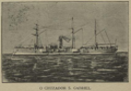Cruzador São Gabriel in «O Occidente» Nº 782 de 20 de Setembro de 1900.png