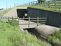 Culvert under the M62, Rishworth (Ripponden) - geograph.org.uk - 838029.jpg