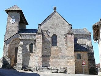 Curemonte - Image: Curemonte Eglise Saint Barthélemy 1