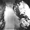 Cushing Glacier, icefield turning into valley glacier, August 22, 1979 (GLACIERS 5364).jpg