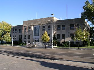 Custer County, Montana - County Courthouse in Miles City