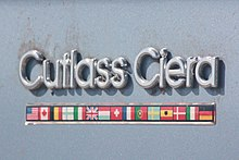 Cutlass Ciera Side Emblem This Was Used On Several Oldsmobile Models From The Mid 1970s To Early 1990s As Part Of Their International Theme