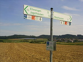 Cycling-route-signs-Westhausen.JPG