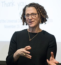 Cynthia Dwork lectures at Harvard Kennedy School.jpg