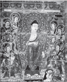Dīpaṁkara Jātaka. Bezeklik Cave 9, Furfan, China. Ninth-eleventh centuries. Wall painting.png