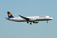 D-AIRY - A321 - Lufthansa