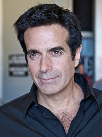 David Copperfield (illusionist) - Copperfield in backstage at the America's Got Talent season 5 finale rehearsal
