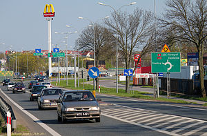 National road 2 (Poland) - Road 2 in Nowe Iganie
