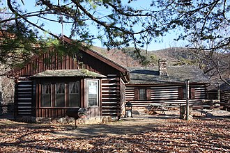 National Register of Historic Places listings in Alleghany County, Virginia - Image: DO Douthat Lodge (3837146854)