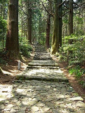 Kumano Kodō - Image: Daimonzaka 28 640