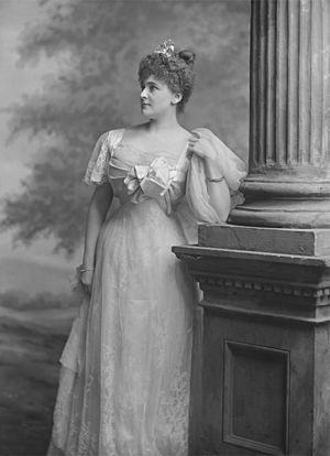 Daisy Greville, Countess of Warwick - Daisy Greville, Countess of Warwick, Lafayette Studio, 1897