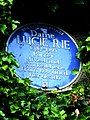 Dame LUCIE RIE 1902-1995 Potter lived and worked here from 1939 until her death.jpg