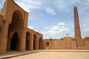 Tarikhaneh Temple - The inner courtyard of the Atashgah