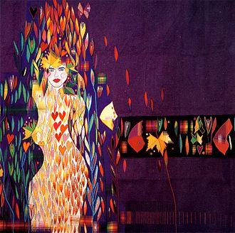 """Carles Delclaux Is - """"Damunt de tu només les flors"""", tapestry, 210x300 cm., Carles Delclaux, 1981"""