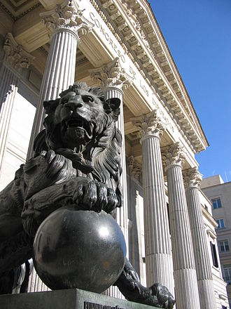 Luis Daoíz y Torres - One of the lions outside of the Congress of Deputies