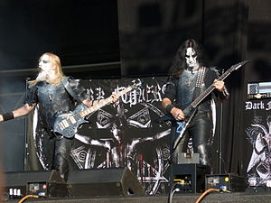 Dark Funeral - Dark Funeral performing live at Wacken 2012
