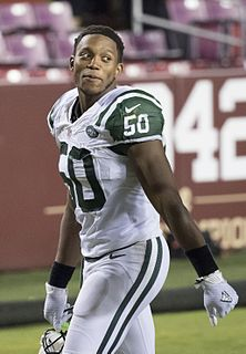 Darron Lee American football linebacker