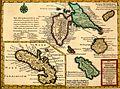 Das Brittische Reich in America, sammt dem eroberten Canada, mit denen wichtigen Inseln Gadaloupe, Martinique und andern See-Plätzen, oder, Kurzgefasste Beschreibung der engländischen Pflanzstädte, (14782269275).jpg