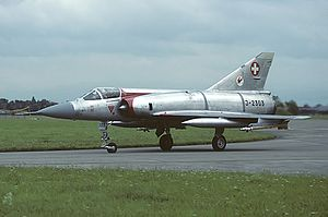 Switzerland and weapons of mass destruction - A Swiss Mirage IIIS in 1988.